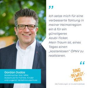 Statement_Dudas, Gordan